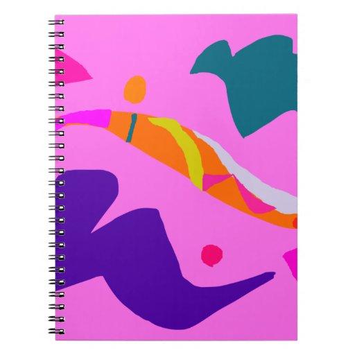 Challenge Artistic True Purpose Ancient Belief Spiral Notebook