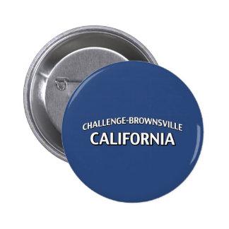Challenge-Brownsville California 6 Cm Round Badge