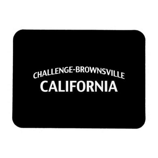 Challenge-Brownsville California Rectangular Magnets