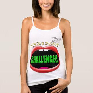 Challenge! Tennis Spaghetti strap Tank top