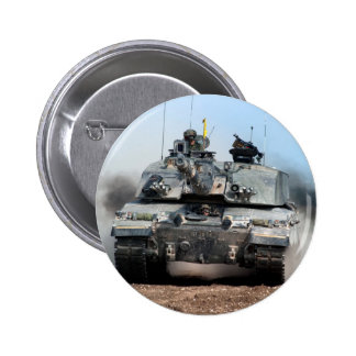Challenger 2 Main Battle Tank (MBT) British Army 6 Cm Round Badge
