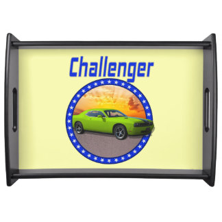 Challenger Lime Serving Tray