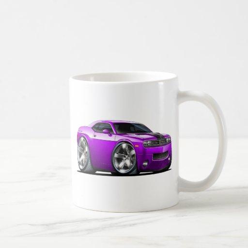 Challenger Purple Car Classic White Coffee Mug