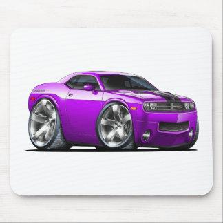 Challenger Purple Car Mouse Pad