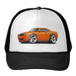 Challenger SRT8 Orange-Black Car Mesh Hat