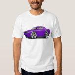 Challenger SRT8 Purple-Black Car T-shirts