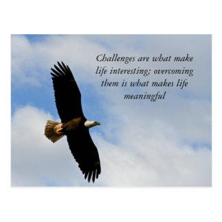 Challenges Postcard