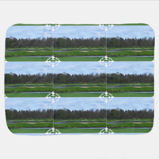 Challenging Golf Course Swaddle Blankets
