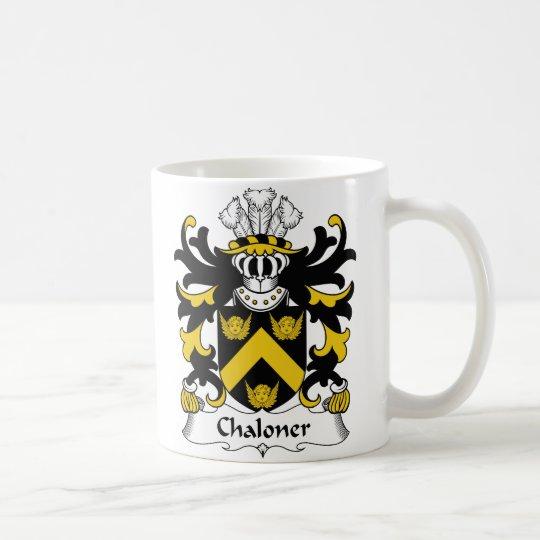 Chaloner Family Crest Coffee Mug