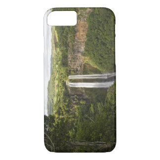 Chamarel Waterfall-highest on Mauritius, over 2 iPhone 7 Case