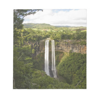 Chamarel Waterfall-highest on Mauritius, over 2 Notepad