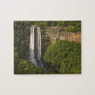 Chamarel Waterfall-highest on Mauritius, over Jigsaw Puzzle
