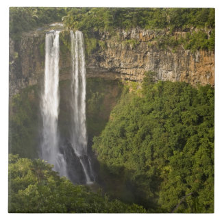 Chamarel Waterfall-highest on Mauritius, over Tile