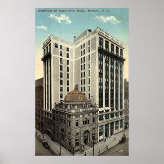 Chamber of Commerce Buffalo NY 1915 Vintage Poster