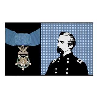 Chamberlain and The Medal Of Honor Posters