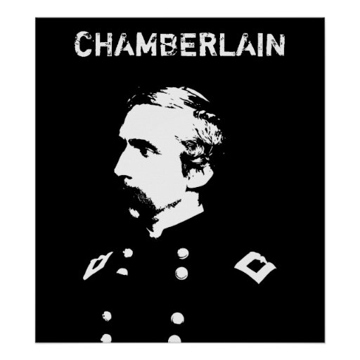 Chamberlain -- Black and White Posters
