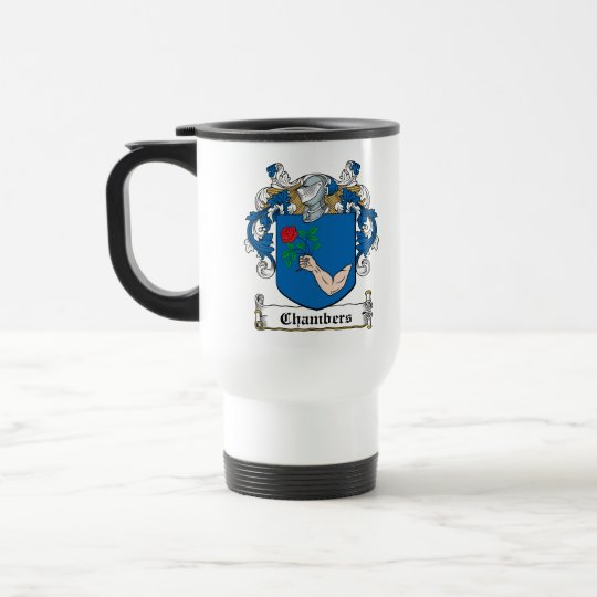 Chambers Family Crest Travel Mug