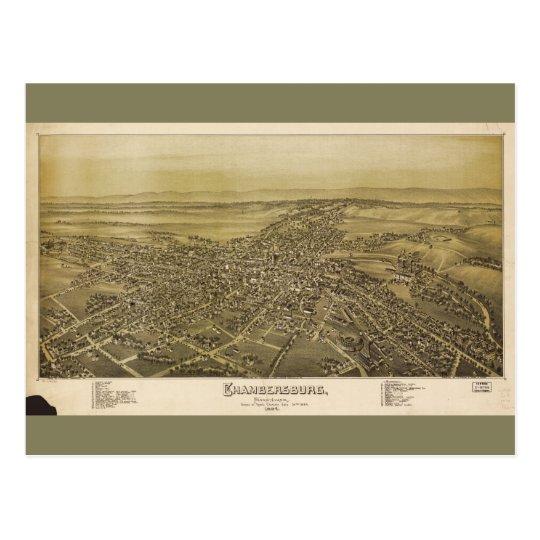 Chambersburg Pennsylvania (1894) Postcard