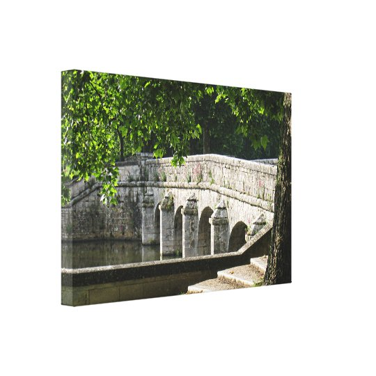Chambord Bridge Canvas Print