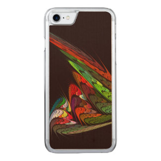 Chameleon Abstract Art Carved iPhone 8/7 Case