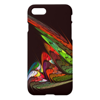 Chameleon Abstract Art Glossy iPhone 8/7 Case