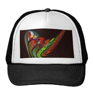 Chameleon Abstract Art Hat