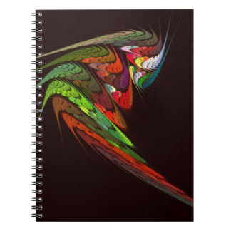 Chameleon Abstract Art Notebook