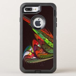 Chameleon Abstract Art OtterBox Defender iPhone 8 Plus/7 Plus Case