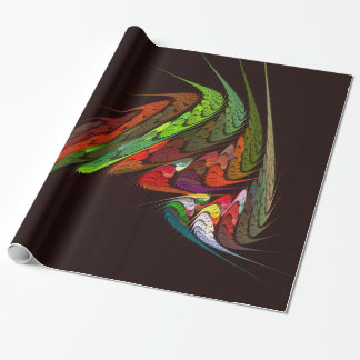 Chameleon Abstract Art Wrapping Paper