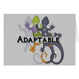 Chameleon Adaptable Card