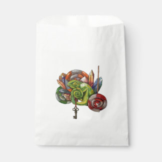 chameleon and crystals favour bags