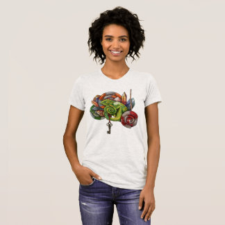 chameleon and crystals T-Shirt
