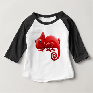 Chameleon Animal Cartoon Character Baby T-Shirt