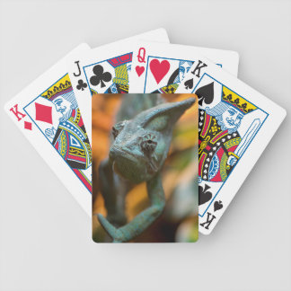 Chameleon Bicycle Playing Cards