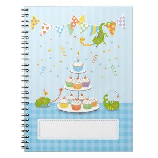 Chameleon birthday notebook