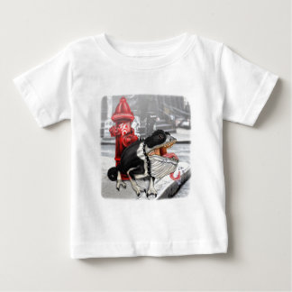 Chameleon Boston Terrier Baby T-Shirt