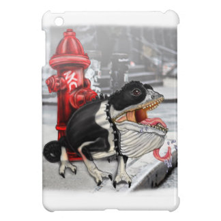 Chameleon Boston Terrier iPad Mini Cover