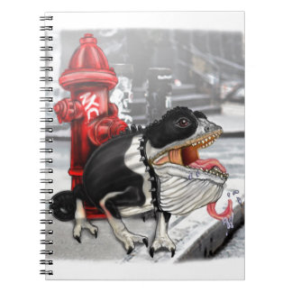 Chameleon Boston Terrier Notebook