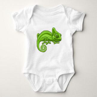 Chameleon Cartoon Character Baby Bodysuit