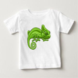 Chameleon Cartoon Character Baby T-Shirt