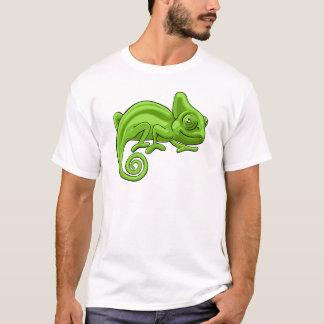 Chameleon Cartoon Character T-Shirt