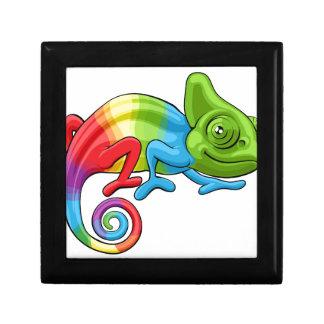Chameleon Cartoon Rainbow Character Gift Box