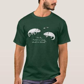 Chameleon cartoon T-shirt