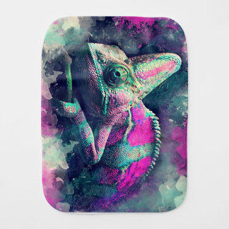 chameleon #chameleon burp cloth