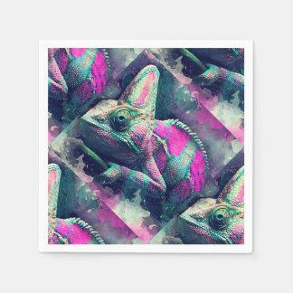 chameleon #chameleon paper napkin