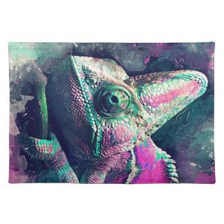 chameleon #chameleon placemat