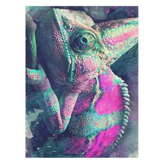 chameleon #chameleon tablecloth