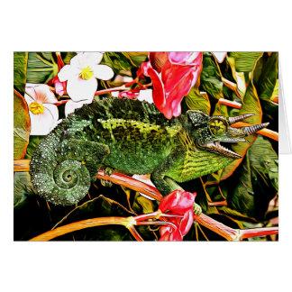 Chameleon Charisma Card