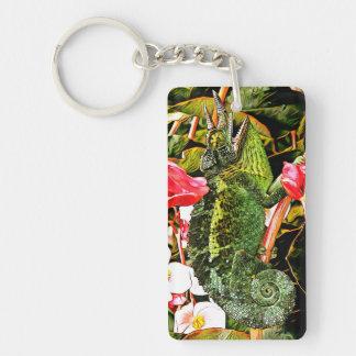Chameleon Charisma Key Ring