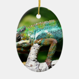 Chameleon Christmas Ornament
